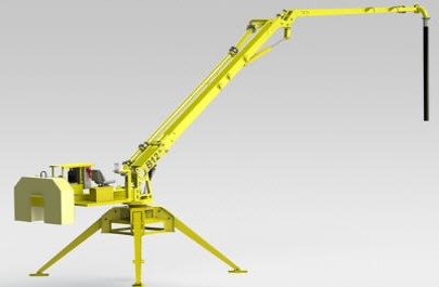 Hydraulic Spider Type Concrete Distributor