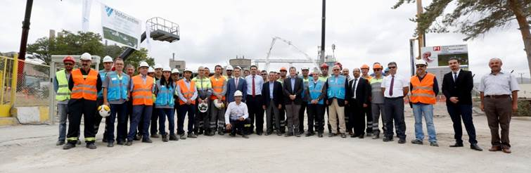 Ground broken on new cement plant in Turkey